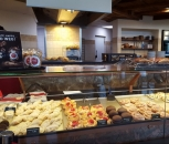 Verkaufstheke Cafe Buchholz