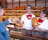 Verkauf von Broten